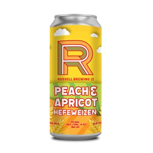 Russell Brewing Peach & Apricot Hefe 473ml