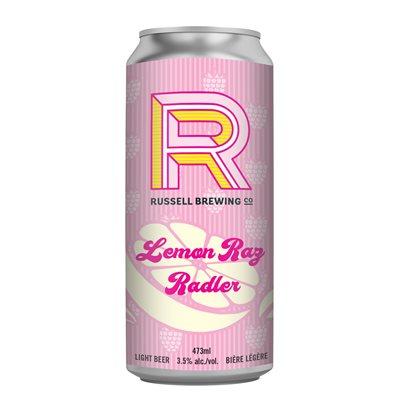 Russell Brewing White Rabbit Lemon Raspberry Radler 473ml