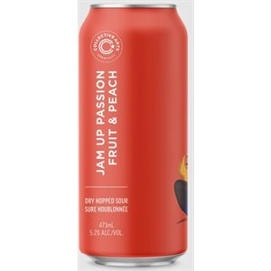 Collective Arts Jam Up Passion Fruit & Peach 473ml