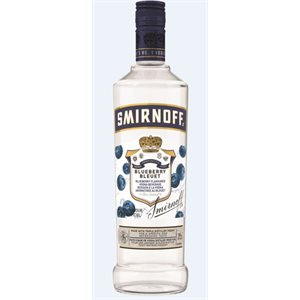 Smirnoff Blueberry 750ml