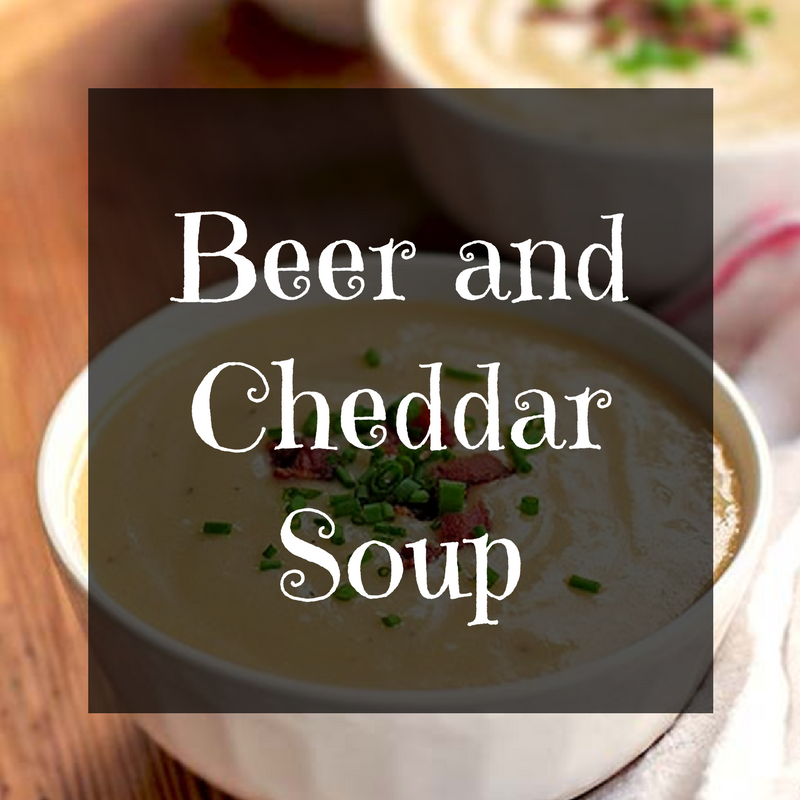 Beer and Cheddar Soup ENG