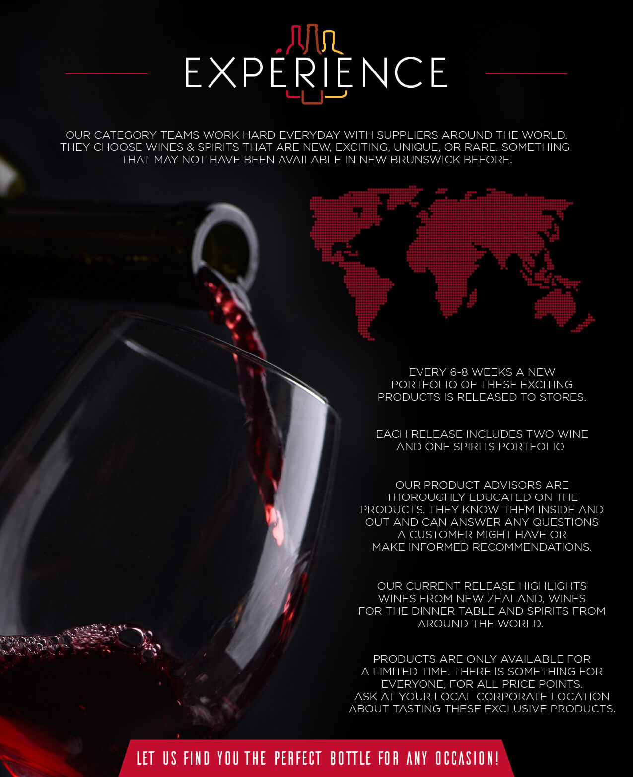 Experience INFOGRAPHIC EN
