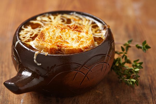 French Onion Soup with Beer